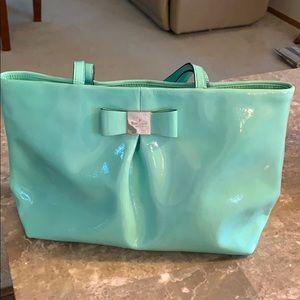 Kate Spade Tiffany blue handbag